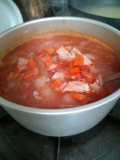 スープ作った!
